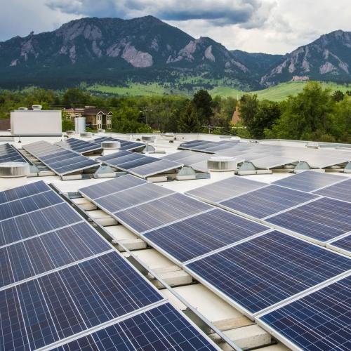 Boulder rooftop PV